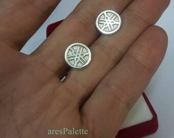 YAMAHA Earrings-Handmade-925 silver