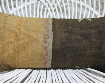 Euro Pillow Covers Yellow And Black Knit Pillows 10x20 Burlap Chair Covers  10x20 Knitted Cushions Kilim