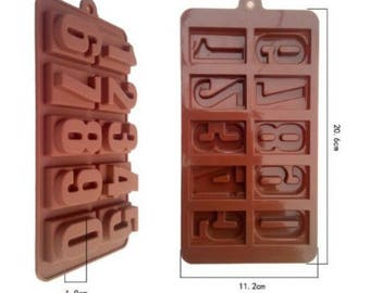 Number Blocks Silicone Mould