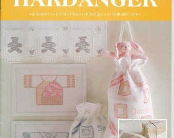 """Hardanger """"Douceur"""": un livret de modèles écrit à 4 mains 14863/22"""