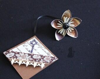 Segnalibri angolari, Bookmarks, Angular, Origami, Kusudama