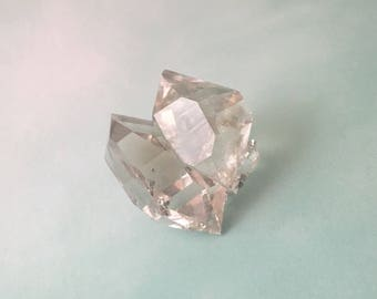 Cluster 45mm, herkimer Diamond, terminated point, rough properties, create jewerly, energy amplifier, body balence, rough nugget, rare