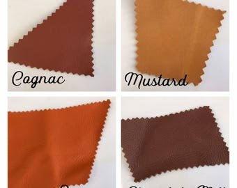 1 Pound- Recycled Genuine Leather Remnant Scraps- Leather Scraps- Genuine Leather Pieces- Recycled Leather - Colorful Leather