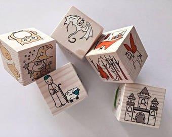 Fairy tale cubes