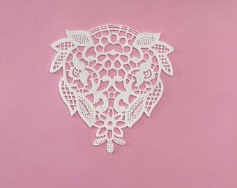 6x Large Sugar Doilies Lace, Edible Lace, Sugar Lace, Cake Lace (FREE SHIPPING)