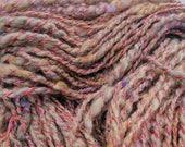 Rambling Rose - Hand Spun, Hand Dyed Alpaca Yarn