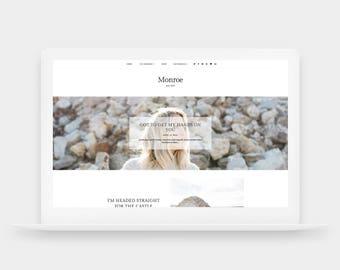 SALE! Monroe | Responsive Blogger Template