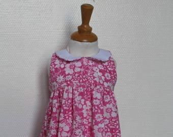 Dress child 2 years cotton T