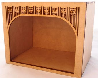 1:24 scale miniature Edwardian roombox kit for collectors