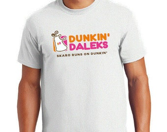 Doctor Who: DUNKIN' DALEKS T-Shirt