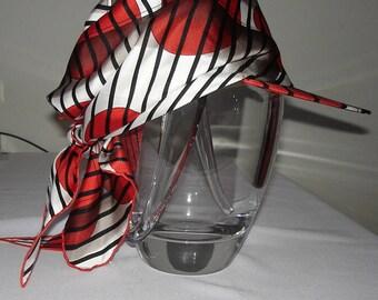 HERMES Cap / Hat / scarf 100% silk. Sun Visor Hermes Scarf / PROMOTION! Free shipping. Hermes