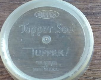 Vintage Tupperware. TUPPER SEAL 1950 before Tupperware was it's name Collectible