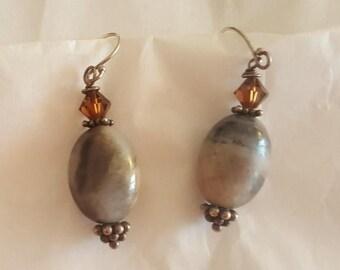 ON SALE Multi Color Stone Earrings