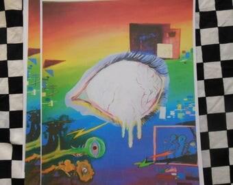 Visage - art print