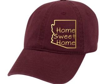 Home sweet home hat, Home sweet home Arizona hat, Arizona hat, Arizona dad hat