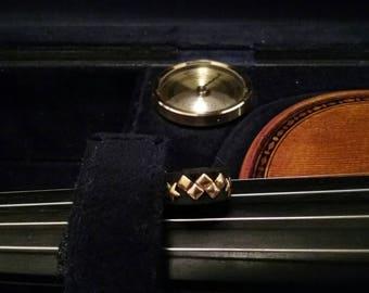 Gold Wonder Woman Violin Mute