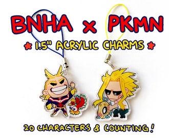 BnHA x Pkmn Charms