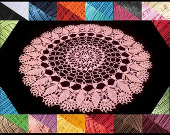 Crochet doily - crochet doilies - Home decor - White crochet doily - Handmade tablecloth