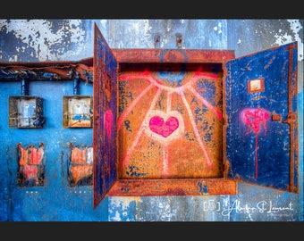 Heart Box Light Ray