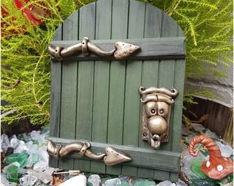 Large Traditional Alice in Wonderland fairy door