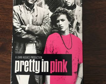 Pretty In Pink VHS Movie  Like New