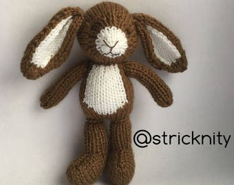 Brown bunny for baby, newborn photography props