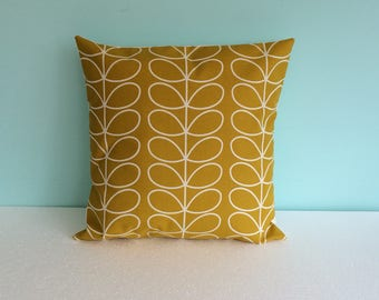 Orla Kiely dandelion multi stem cushion cover