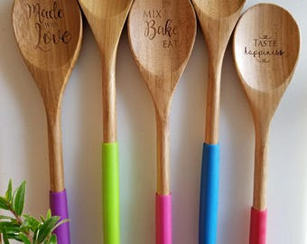 Designer Wooden Spoons - many designs to choose from