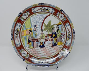 Plate to Characters, China XXth Porcelain, Free Shipping!