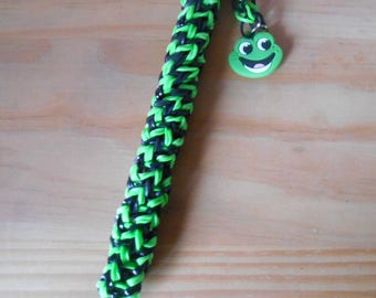 Rainbow loom Green Frog pen