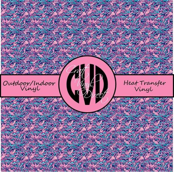 Beautiful Patterned Vinyl // Patterned / Printed Vinyl // Outdoor and Heat Transfer Vinyl // Pattern 762
