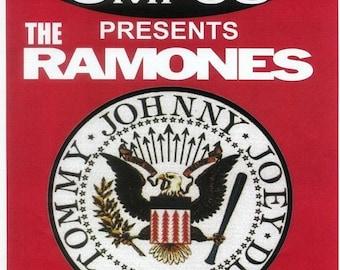 The Ramones CBGB A3 or A4 Quality Poster Matt