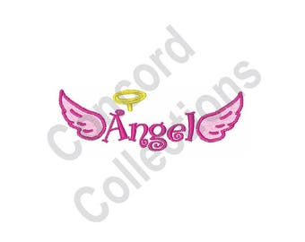 Angel - Machine Embroidery Design