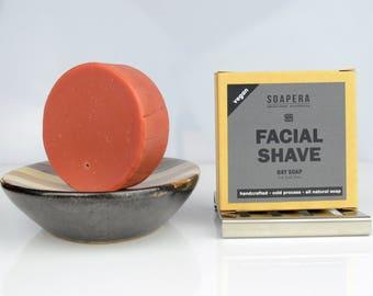 Bay Rum facial cleansing and shaving multi-tasking  soap-Men's grooming - Soap Era all natural handmade Cold Process vegan soap