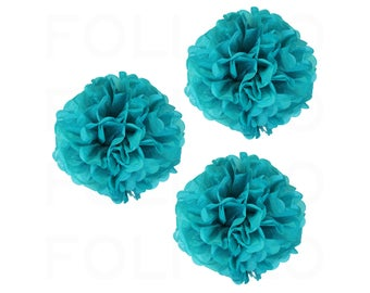 """TEAL Puff Ball 