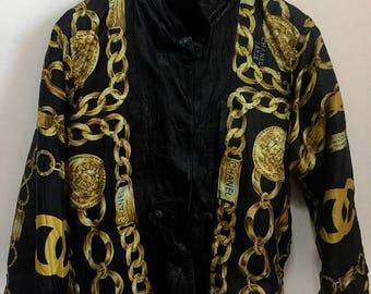 On Sale Promotion Vintage Chanel Paris Reversible Jacket