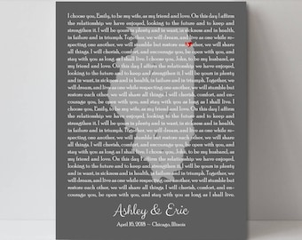 Wedding Vow Renewal Gift Ideas Vow Renewal Ideas Vow Renewal Gifts for Husband Vow Renewal Sign Vow Renewal Guest Book
