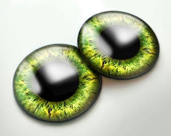 91 Blythe glass eye chips shining effect , realistic eye chips