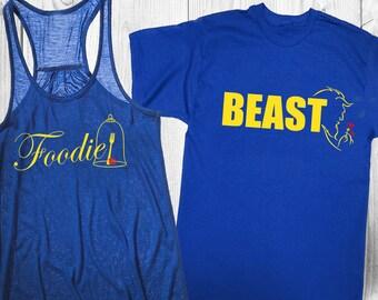 Couple's (2) Foodie/Beast (Beauty/Beast) - EPCOT Food and Wine