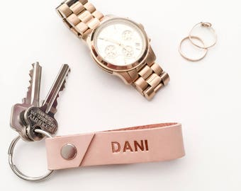 Personalised Leather Key Ring | Foil and Matte Stamping | Personalised Leather Key Chain | Gift ideas | Corporate Gift | Stocking Filler