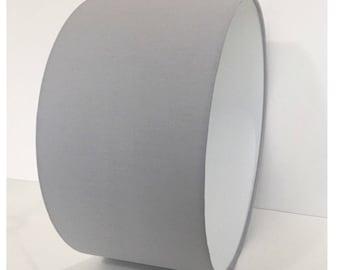 Saffron grey cube lampshade lightshade table lamp plain light grey drum lampshade lightshade ceiling pendant 25cm 30cm 35cm 40cm 45cm 50cm 55cm 60cm aloadofball Choice Image