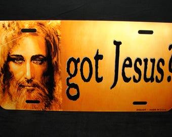 GOT JESUS Metal Novelty License Plate For Cars Christian RELIGIOUS
