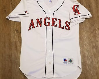 California angels jersey,anaheim angels jersey, Russell authentic diamond collection jersey size 40 medium
