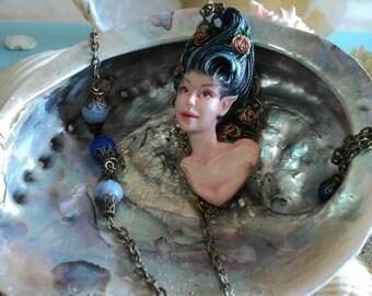Ooak necklace decoration
