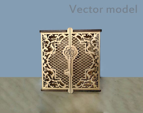 box for keys laser cut vector model key holder cabinet ambry case for keys vector template. Black Bedroom Furniture Sets. Home Design Ideas