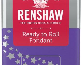 Bright Purple Renshaw Fondant 8.8 oz