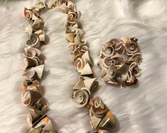 """24"""" Shell Necklace and Bracelet Set"""