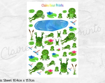 FROG Planner Stickers