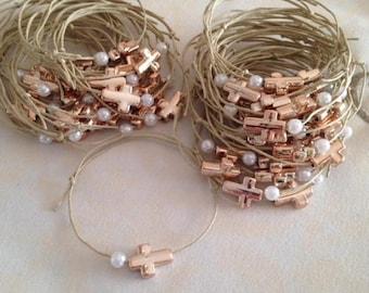 100 pcs Martyrika bracelet-Witness Pins-Orthodox Baptism