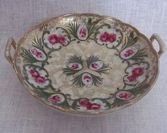 Antique Nippon Bowl with Maple Leaf Mark